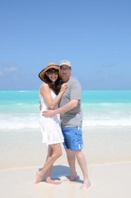 Ellen and Dave | Sandals Emerald Bay