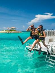 Caribbean Scuba Couple