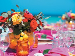 Weddings-table settings