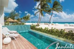 Royal Barbados beachfront suite